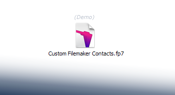 Custom Filemaker Invoice Demo Template