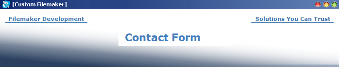 custom-filemaker-contact-form