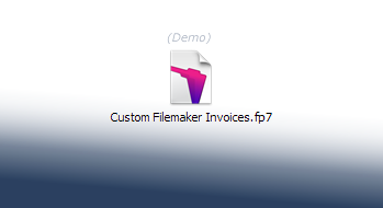 Custom Filemaker Contact Demo Template